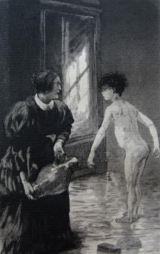 Ange du décrotté, 1884