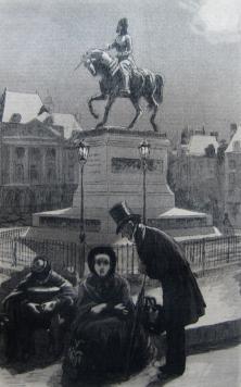 Nous avons passé la nuit la, 1884