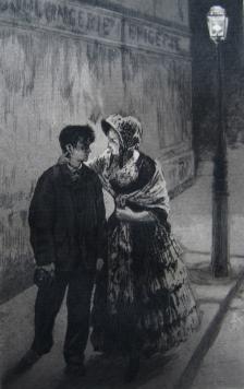 Nous revenons du théatre ensemble, 1884
