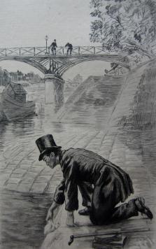 Il y avait sur le bord de la Seine, 1884