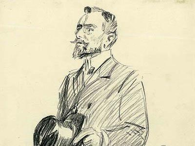 Un témoin à la barre au procès de Thèrèse Humbert.