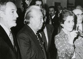 Grand Palais avec FrançoIse Giroud et Seijii Togo