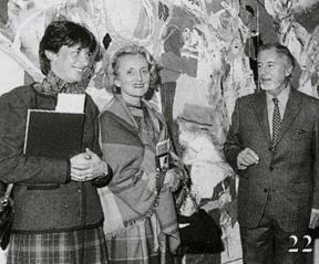 Bernadette Chirac, Françoise de Panafieu et Baron-Renouard