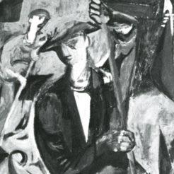 Baron Renouard, Les Gondoliers, 1948, 130x81