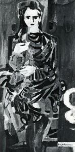 Baron Renouard, L'Espagnol, 1948, 80x48