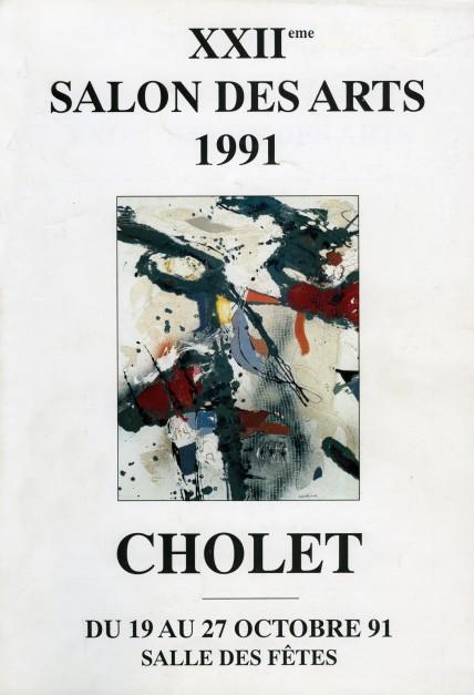 Salon des arts, CHOLET, 1991
