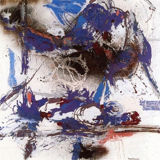 Paysage Marin, 1989, Baron Renouard