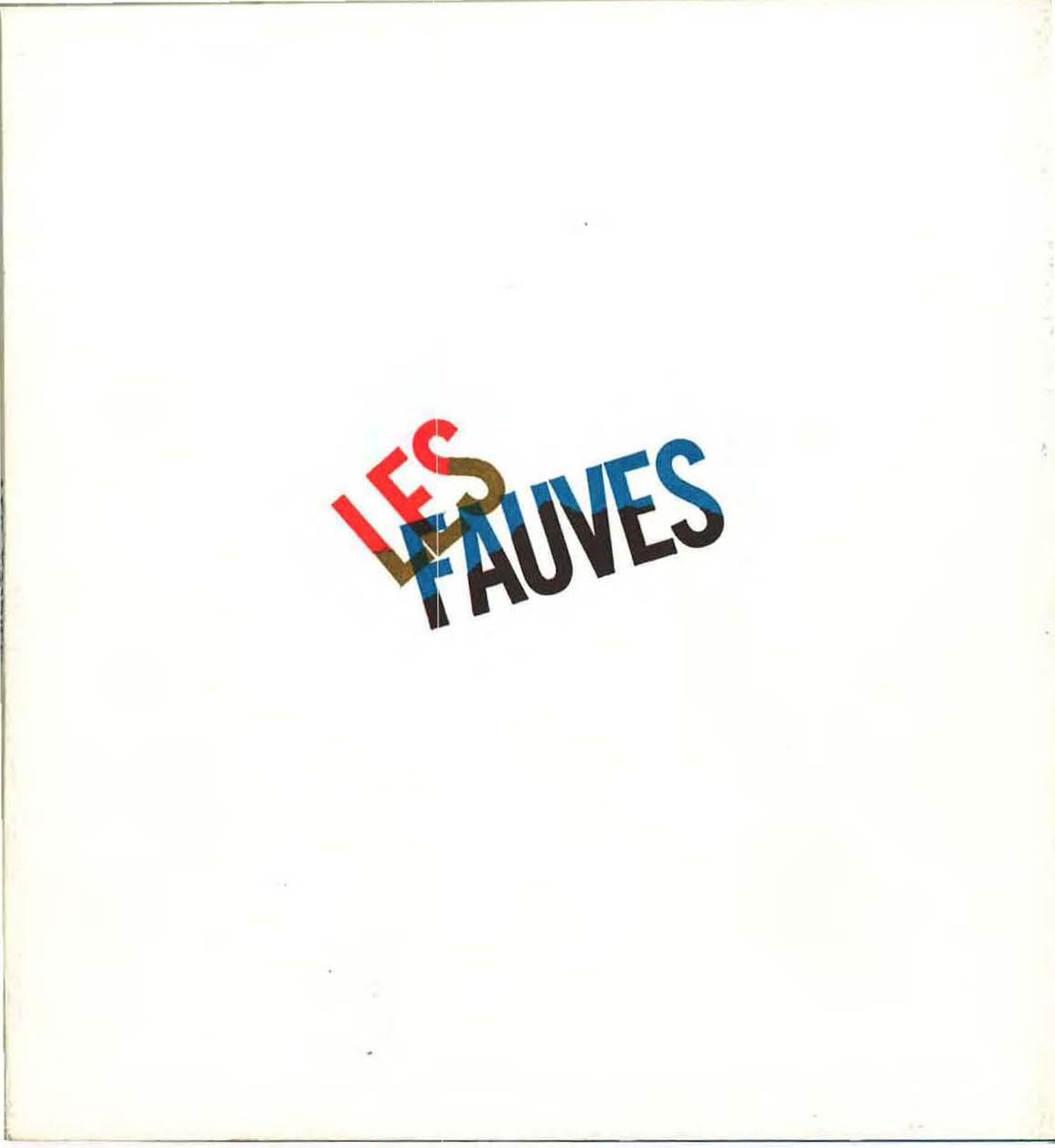 Couverture du Catalogue du 60e anniversaire du Fauvisme