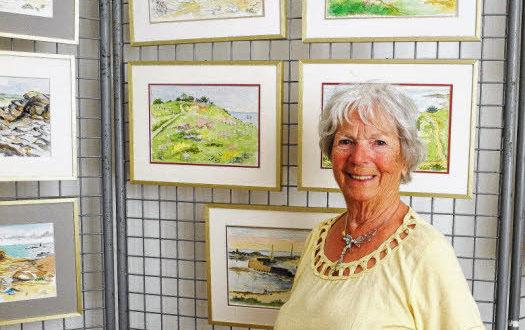 Denise Pop, peintre