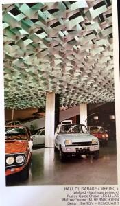 Utilisation en claustra pour un plafond (aluminium)