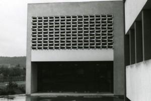 Utilisation en claustra pour un garage