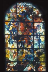 Vitrail de Baron-renouard à la Basilique de Brioude, Maître verrier : Michel Guével