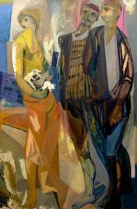 Les Pêcheurs, 194850 × 97 cm