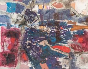 Composition 121, 1990145 × 115 cm